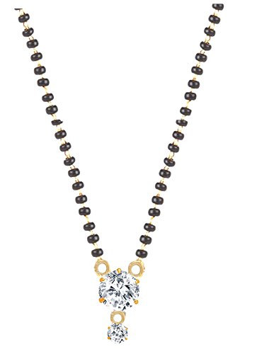 9 Latest American Diamond Mangalsutra Designs Styles At Life