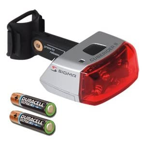 Sigma Batterie-Rückleuchte Cuberider II