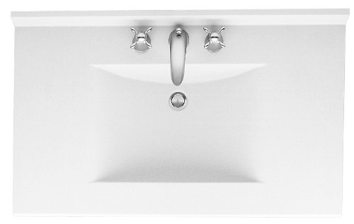 Swanstone CV2249-010 49-Inch by 22-Inch Contour Vanity Top ...