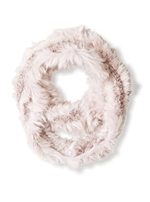 Love Token Women's Fur Infinity Scarf, Bark