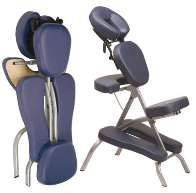 EarthLite Vortex Portable Massage Chair - Hunter Green