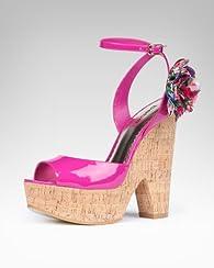 Leah Cork Wedge Sandal