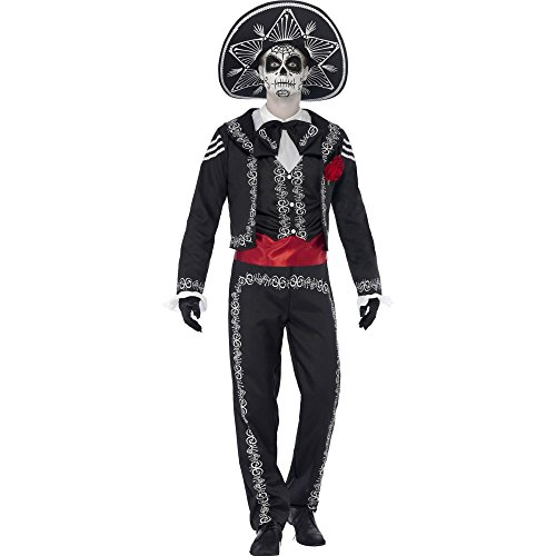 Smiffy's Men's Day Of The Dead Senor Bones