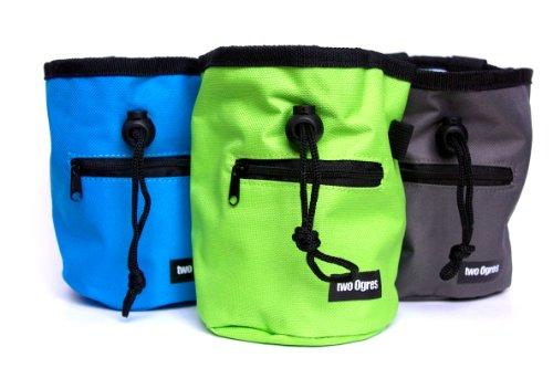Chalk Bag with Waist Belt and Zippered Pocket