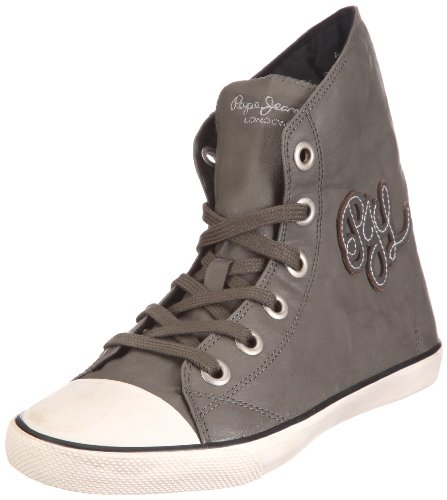 Pepe Jeans London Berlin BNW-240 B, Damen Sneaker, Grau (grey), EU 37