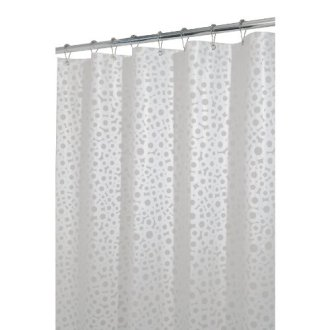Circo Shower Curtains Shower Curtains Outlet InterDesign Circo Eva 72 Inch by 72 Inch Shower Curtain  White