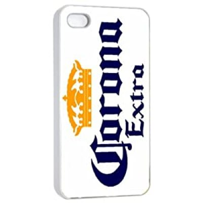 Corona Extra Beer Logo white iPhone 4/4s case at amazon