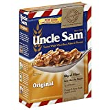 UNCLE SAM BREAKFAST CEREAL ORIGINAL WHOLE WHEAT BERRY AND FLAXSEED FLAKES 10 OZ