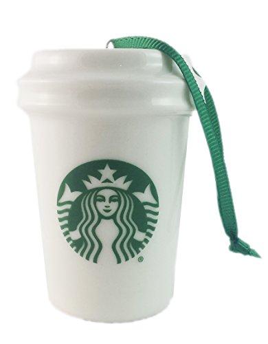 Starbucks White Cup Ornament