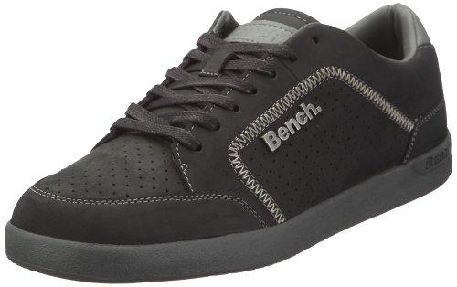 Bench BOB BMTA0138, Herren, Sneaker, Schwarz (Black/Grey BK014-GY108-GY108), EU 45 (UK 10.5)
