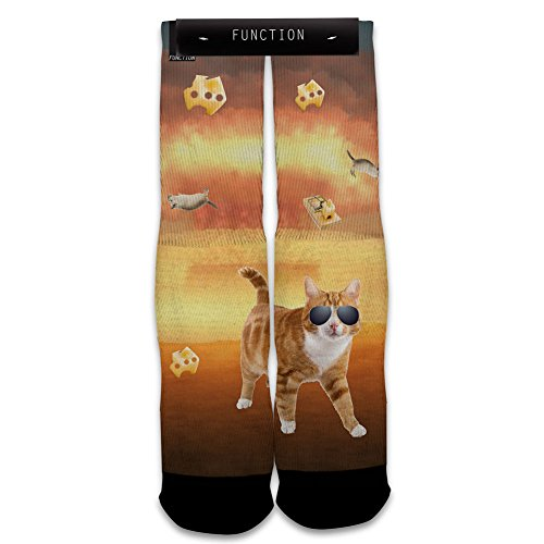 Function - Cat Explosion Printed Sock