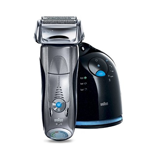 Braun Series 7 790cc-4 Electric Foil Shaver for Men with Clean and Charge Station, Electric Men's Razor, Razors, Shavers, Cordless Shaving System