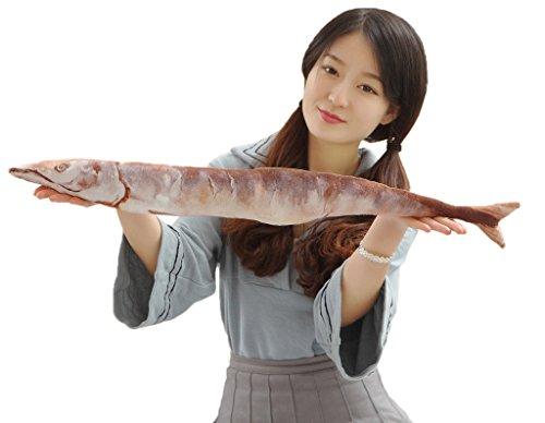 (トヨベイ)Toyobuy おもしろい 秋刀魚 ぬいぐるみ かわいい 抱き枕 クッション おもちゃ お昼寝枕 インテリア クリスマス 誕生日 プレゼント(50cm)