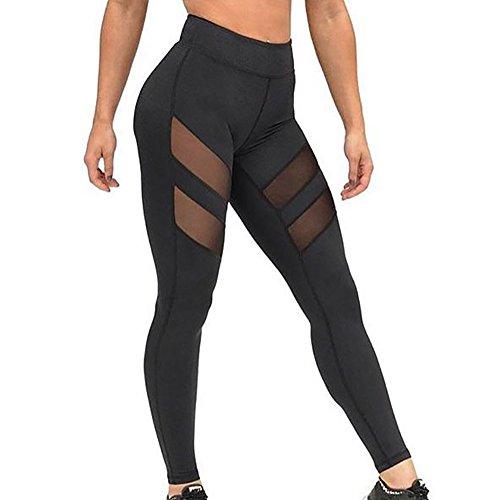 Zolimx Frauen Hohe Taillen dünnen Yoga Hosen Leggings