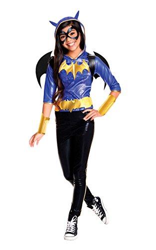 Rubie's Costume Kids DC Superhero Girls Deluxe Batgirl Costume, Large