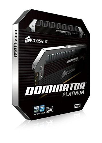CORSAIR コルセア DDR4 デスクトップ用メモリ DOMINATOR PLATINUMシリーズ クアッドチャネル 4GB×4kit CMD16GX4M4A2800C16