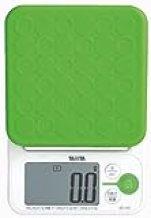 【パン作りにも便利な0.1g単位の高精度 / 最大計量2kg】 TANITA デジタルクッキングスケール グリーン KD-192-GR