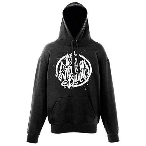 187 Straßenbande - Logo Hoodie schwarz