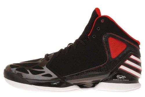 af387bf2915ab4 Adidas Rose 773 Black Red Chicago Bulls Mens Basketball Shoes G48740  US  size 9.5
