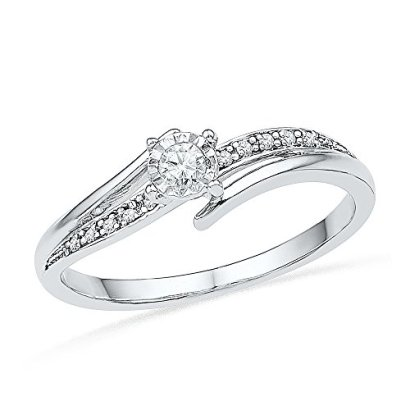 10KT-White-Gold-Round-Diamond-Bypass-Promise-Ring-110-cttw