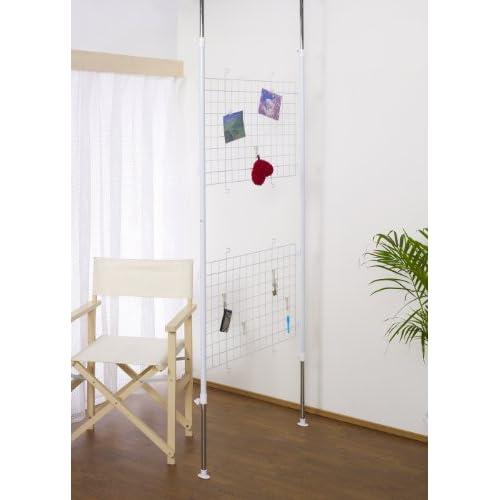 ルミナス つっぱり(テンション)パーテーション 幅が2種類から選べる 壁面収納 幅62又は86×奥行6×高さ176-278cm PT-5070
