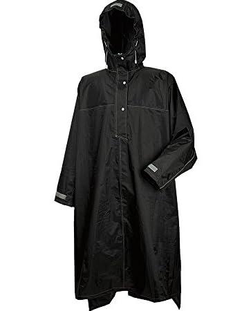 [ カジメイク ] ハイポンチョ ブラック フリーサイズ [ 品番 ]3340