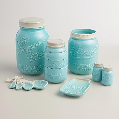 Mason Jar Ceramic Kitchenware
