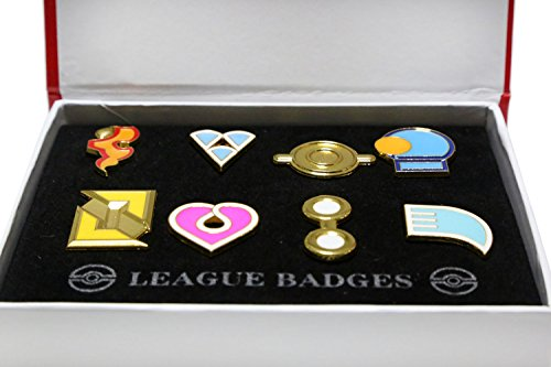 Ash Gym Badges Hoenn Gen 6 Badges Collection box Set