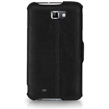 CaseCrown Ace Flip Case (Black) for Samsung Galaxy Note