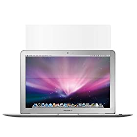 Premium Reusable LCD Screen Protector with Lint Cleaning Cloth for Apple Macbook, Macbook Air Laptop 13.3-Inch Widescreen LCD