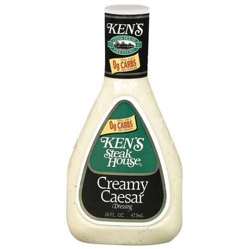 Kens Steak House Creamy Caesar Dressing KetoDB
