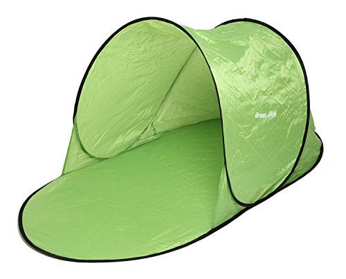 OutdoorStyle ワンタッチサンシェード ミニ ポップアップシェード テント 日除け 142×70×68cm グリーン
