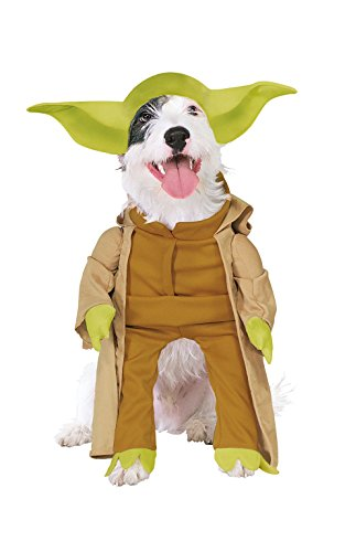 Rubies Costume Star Wars Collection Pet Costume, Yoda with Plush Arms