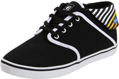 Etnies CAPRICE MID W'S 4201000255538, Damen Sneaker, Schwarz (BLACK/WHITE/ORANGE 538), EU 40 (US 9)
