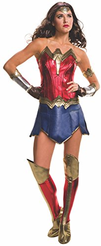 Women's Batman v Superman: Dawn of Justice Deluxe Wonder Woman Costume