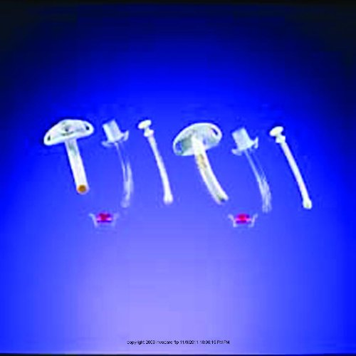 Disposable Cannula Cuffless Tracheostomy Tube, Disp Can Cfls Sz8, (1 EACH, 1 EACH)