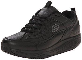 Skechers for Work Men's Shape Ups Exeter Work Shoe, Black, 8 M US