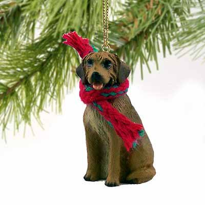 Rhodesian Ridgeback Miniature Dog Ornament