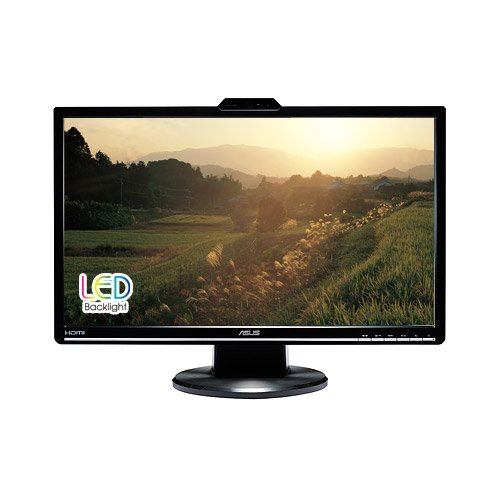 ASUS VK248H-CSM 24-Inch Full-HD LED Monitor with Integrated Speakers and Webcam