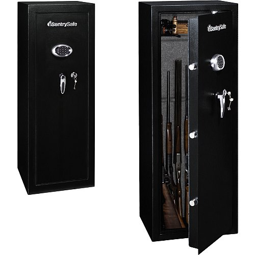 Sentrysafe 14-Gun 59 Safe - (Choose Delivery & Lock Option) Combo Lock-In-Home Delivery