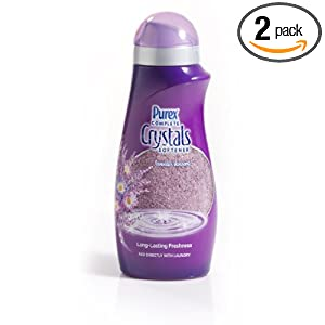 Purex Complete Crystals Fabric Softner, Lavender Blossom, 28 Ounce (Pack of 2)