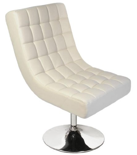 Lounge Sessel, Drehstuhl in creme