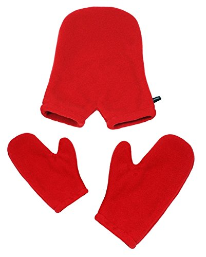 Smittens Mittens for Couples Small/Large, Red