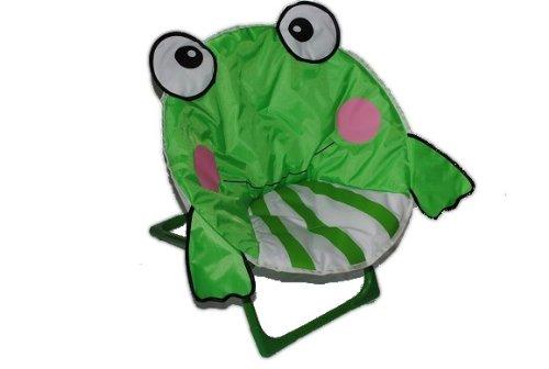 Liegestuhl Frosch faltbar Klappstuhl Kinder Kind Frösche grün Junge Mädchen klappbar leicht Kinderstuhl Campingkinderstuhl Kinderstühle Camping Stuhl Getränkehalterung Campingstuhl