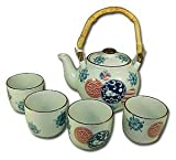 Porcelain Tea Set Usagi & Sakura 28oz #15306