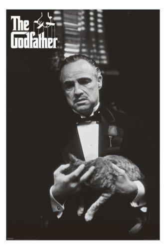 映画ポスター『ゴッドファーザー《猫》』マーロンブランド