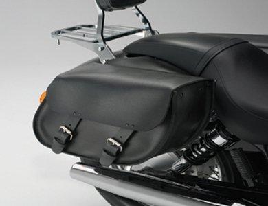 Honda Shadow Spirit VT750C2 Models Pair of Chrome Saddlebag Supports