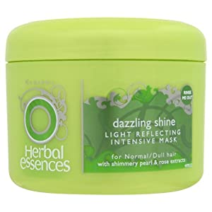 Green tub of hair mask