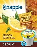 Snapple Lemon Iced Tea K-Cups - 88 Count