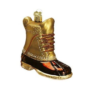 Field Boot Christmas Ornament
